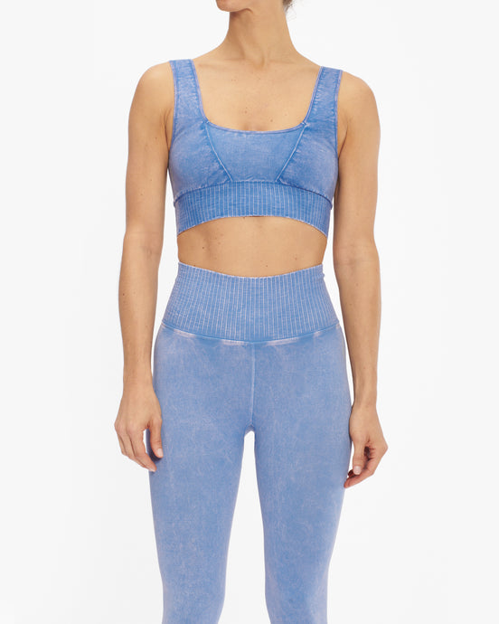 FREE PEOPLE FP MOVEMENT SQUARE NECK GOOD KARMA SPORTS BRA