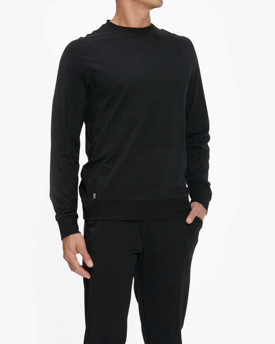 VUORI PONTO PERFORMANCE CREWNECK SWEATSHIRT