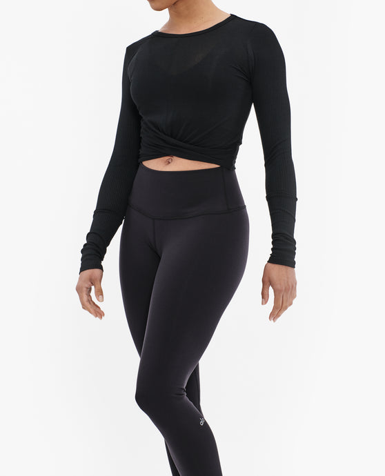 ALO YOGA COVER LONG SLEEVE TOP