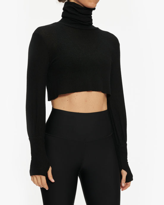 JOAH BROWN BROOKLYN TURTLENECK SWEATER