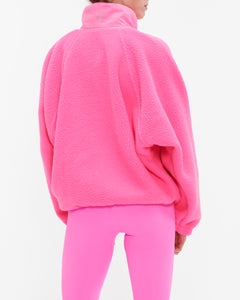 FREE PEOPLE FP MOVEMENT HIT THE SLOPES PINK JACKET