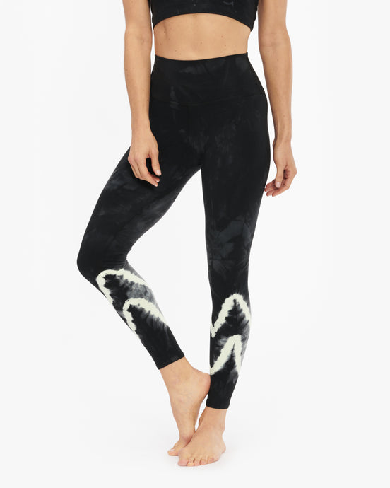 ELECTRIC & ROSE SUNSET LEGGING CHEVRON WASH