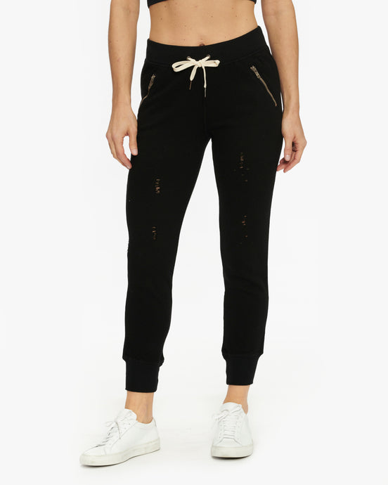 N:PHILANTHROPY GRAVITY DECON PANT BLACK