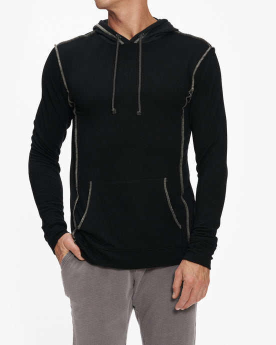 R&R SURPLUS SWEATSHIRT WITH THERMAL HOOD