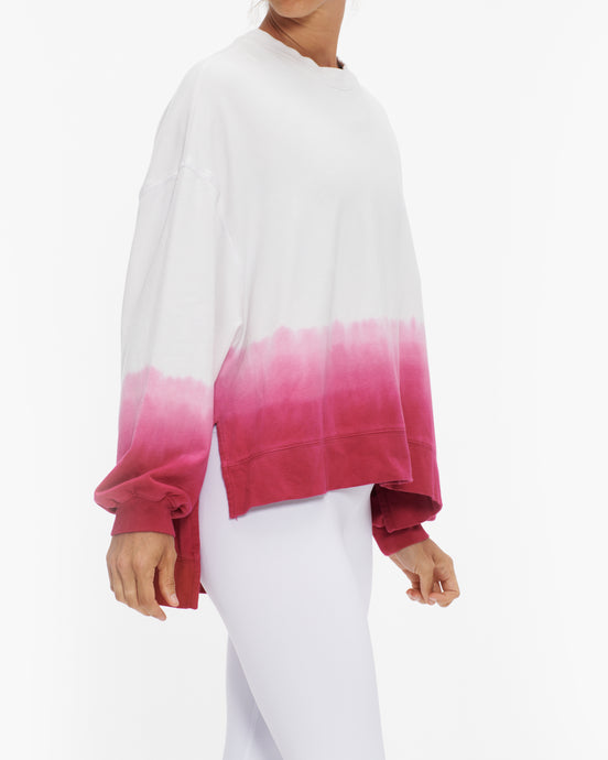 EELECTRIC AND ROSE NEIL PINK SWEATSHIRT