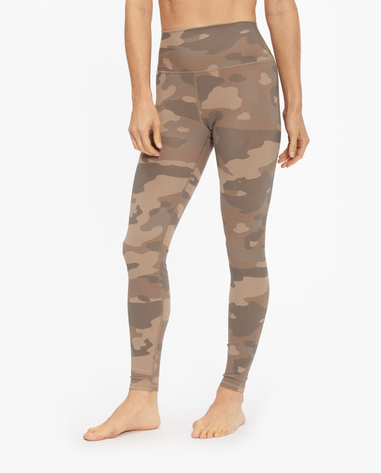 ALO YOGA HIGH WAIST VAPOR CAMO LEGGING