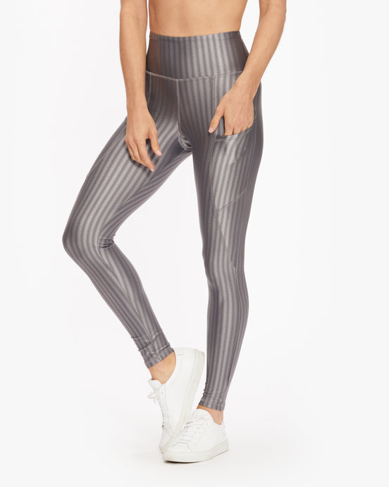 STRUT THIS FLYNN LEGGING SATIN