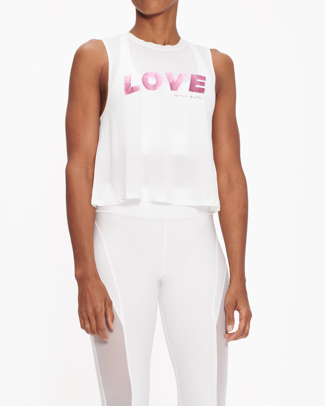 SPIRITUAL GANGSTER LOVE ACTIVE TANK