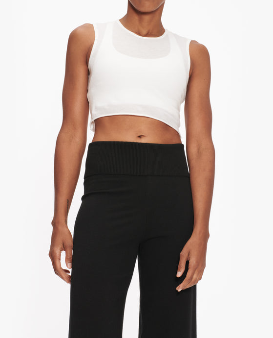 LIVE THE PROCESS CROP TOP