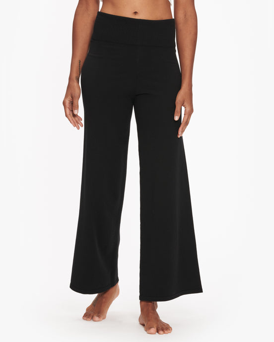 LIVE THE PROCESS RIB FOLD OVER FLARE PANT