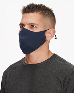 WHEELERS.V FACE MASK NAVY