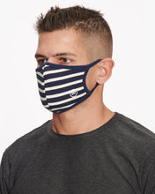 Load image into Gallery viewer, SOL ANGELES FACE MASK 2 PACK INDIGO & STRIPE