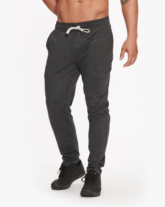 VUORI PONTO PERFORMANCE PANT CHARCOAL HEATHER