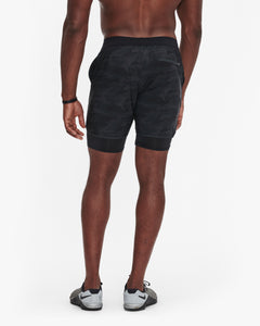 "VUORI STOCKTON SHORT 6.5"" - LINED - BLACK CAMO"