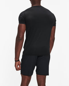 VUORI TRADEWIND PERFORMANCE TEE BLACK