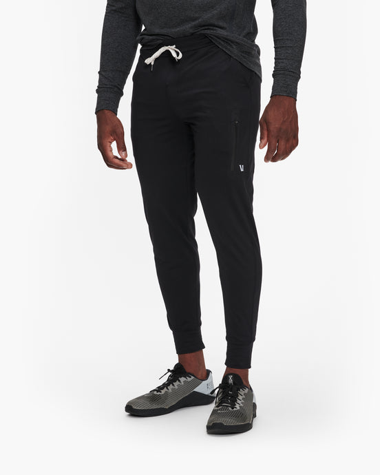 VUORI SUNDAY PERFORMANCE JOGGER SWEATPANT BLACK