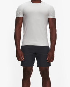 VUORI STRATO TECH TEE SALT HEATHER