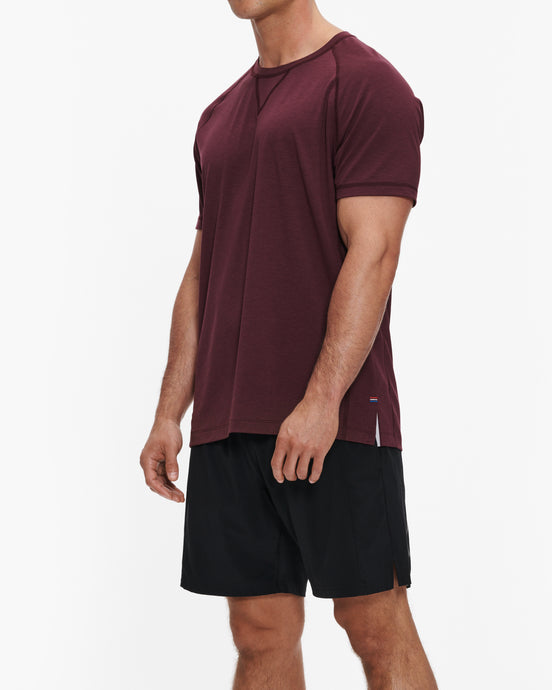 FOURLAPS SHORT-SLEEVE LEVEL TEE