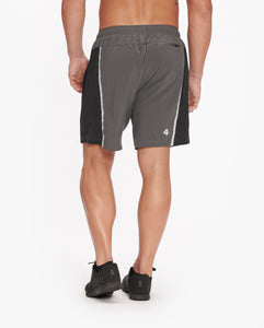 "FOURLAPS BOLT SHORT 7"" - LINED - CHARCOAL"