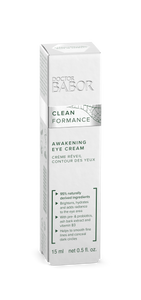 A fast absorbing eye cream that supplies moisture, helps to reduce puffiness and conceals dark circles.