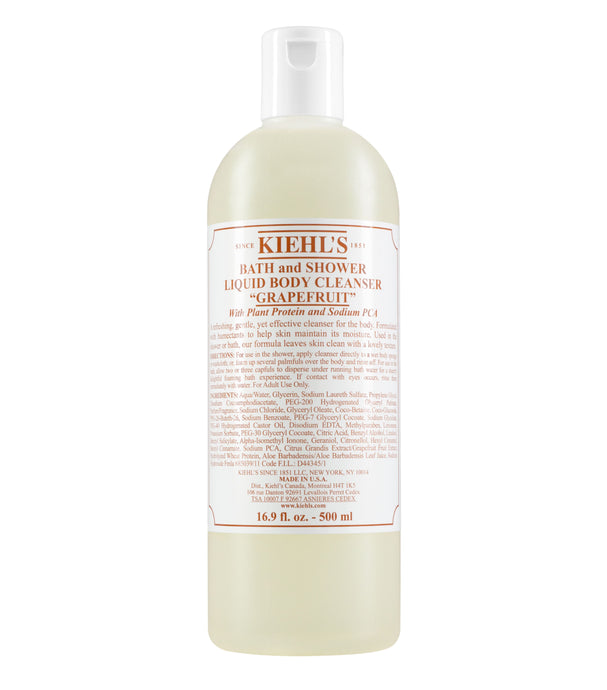 KIEHL'S BATH AND SHOWER LIQUID BODY CLEANSER - GRAPEFRUIT