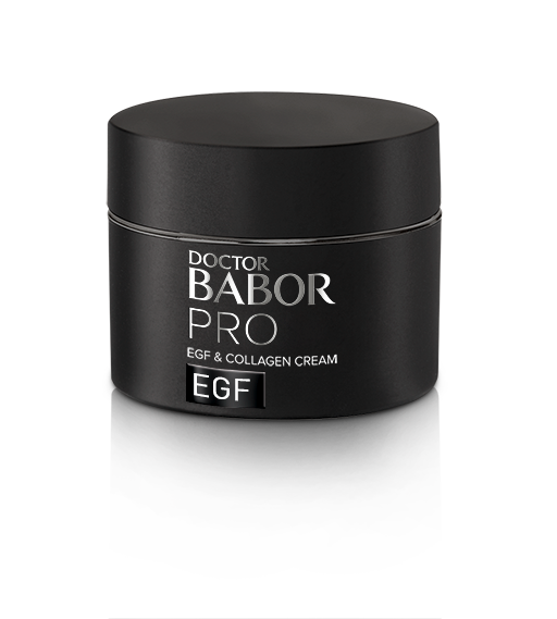 EGF & Collagen Cream is a light cream that combines EGF and FGF encouraging biomimetic peptides with marine collagen to stimulate skin cell regeneration and boost collagen and elastin production.