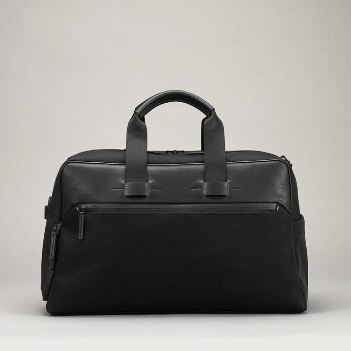 TROUBADOUR EMBARK OVERNIGHT WEEKENDER BAG BLACK