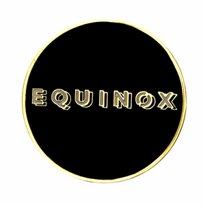 GOLDNO.8 THE EQUINOX PIN