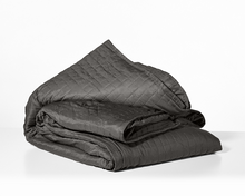 Load image into Gallery viewer, The Gravity Cooling Blanket Single - 15lb Grey