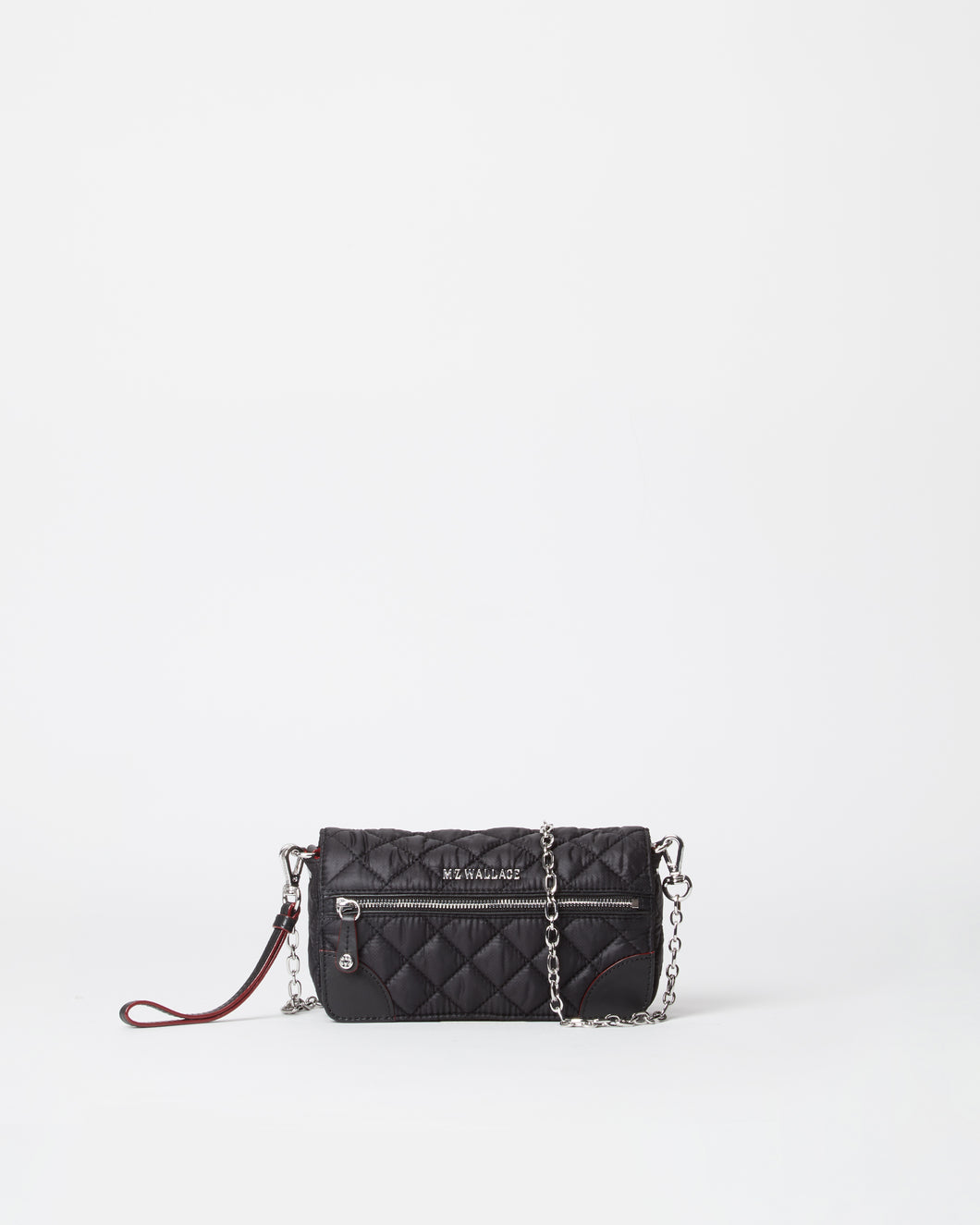 MZ WALLACE CROSBY CONVERTIBLE WRISTLET CLUTCH BAG