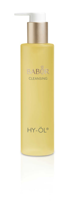 HY-ÖL® is part of a unique 2-step deep action cleanser that combines the natural cleansing powers of water and oil to remove water and oil soluble products thoroughly yet gently. . Made from pure natural plant oils and Quillaja Extract to intensify the cleansing action without causing tightness. HY-ÖL® is the 1st step of the bi-phase cleansing system (2nd step Phytoactive Hydro Base sold separately).