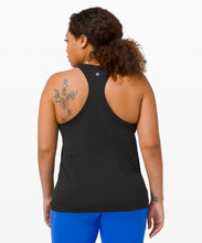 Load image into Gallery viewer, LULULEMON SWIFTLY TECH RACERBACK BLACK