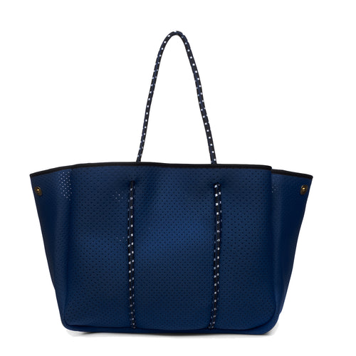 ANNABEL INGALL SPORTY SPICE NEOPRENE TOTE BAG NAVY