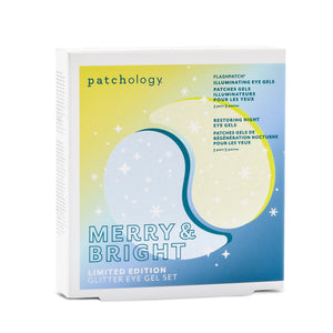 PATCHOLOGY MERRY & BRIGHT HOLIDAY KIT UNDER EYE GELS