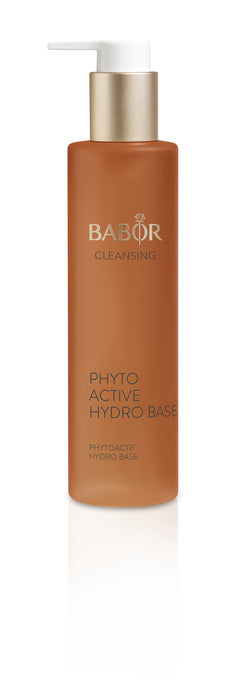 Phytoactive Hydro Base is part of a unique 2-step deep action cleanser that combines the natural cleansing powers of water and oil to remove water and oil soluble products thoroughly yet gently. Phytoactive Hydro Base was designed to treat, refresh, and lend radiance to the skin while you cleanse. Phytoactive Hydro Base is the 2nd Step in our bi-phase cleansing system (1st step HY-ÖL sold separately).
