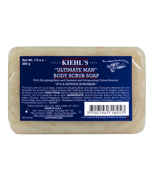 "KIEHL'S ""ULTIMATE MAN"" BODY SCRUB SOAP"
