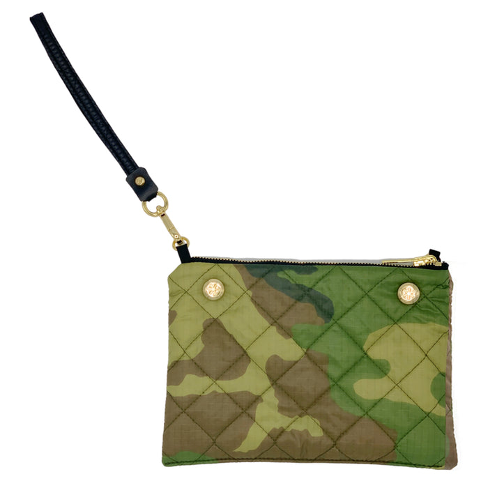 GOLDNO.8 THE REVERSIBLE CLUTCH BAG