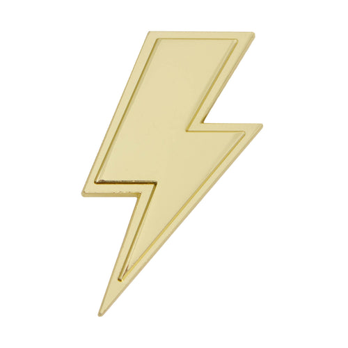 GOLDNO. 8 THE LIGHTNING BOLT PIN