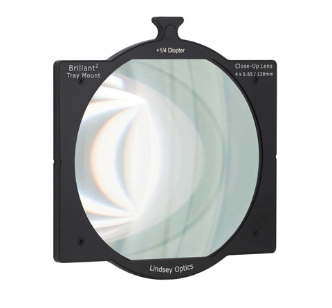 Lindsey Optics Brilliant² Tray Mount Close-Up Lens Diopters