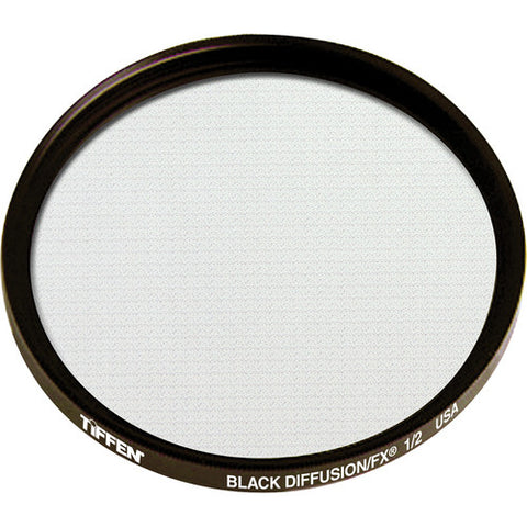"Tiffen 4.5"" Round Black Diffusion FX 1/2 Filter"