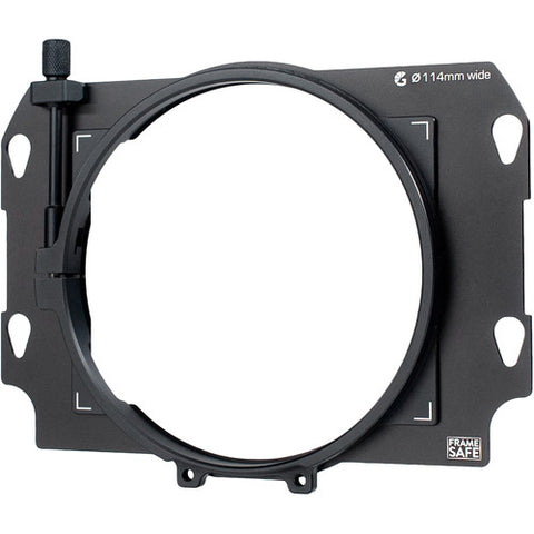 Bright Tangerine Frame Safe Clamp Adapter for Misfit Kick Matte Box (114mm)