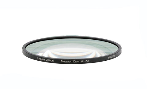 Lindsey Optics Brilliant Close-Up Round Drop-in Lens Diopter
