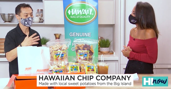 Need something to munch on? Try addicting snacks from Hawaiian Chip Co.