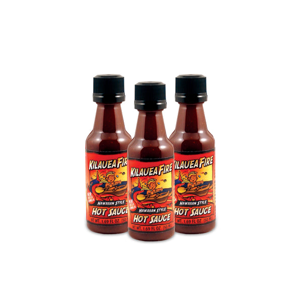 Kilauea Fire Hawaiian Style Hot Sauce 1.69oz Bottle