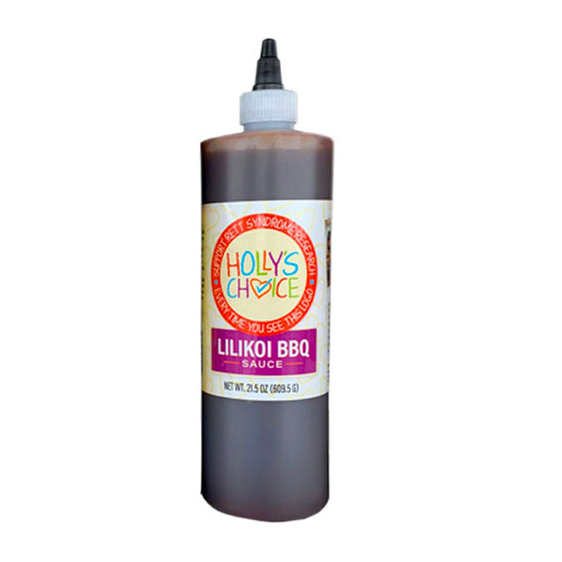 Kilauea Fire Lilikoi BBQ Sauce 21.5 oz. Bottle