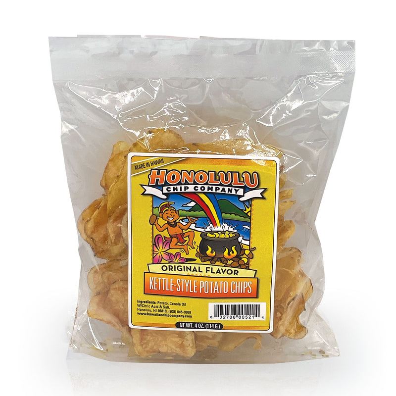 Honolulu Chip Company Original Flavor Kettle-Style Potato Chips