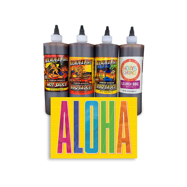 Aloha Summer Sampler Sauce Pack