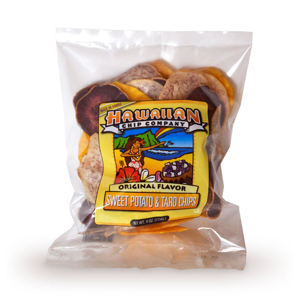 Hawaiian Chip Company Original Flavor Sweet Potato & Taro Chips