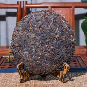 2008 Yr 357g Pu-erh Tea China Yunnan Oldest Ripe Pu'er Tea Down Three High Clear Fire Detoxification Beauty For Lost Weight Tea