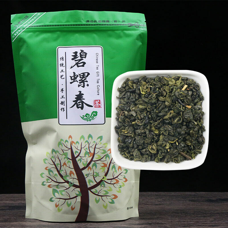 2020 China Bi-luo-chun Green Tea Real Organic New Early Spring Green Tea for Weight Loss Health Care